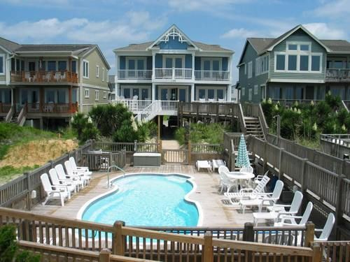 Seven Bedrooms Baths Gourmet Kitchen And Large Living Areas Upstairs Down In This Holden Beach Al Private Pool As Well