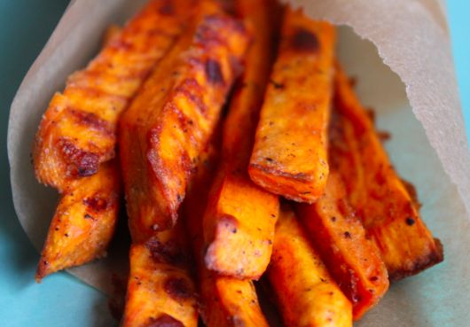 Made this sweet potato fry recipe tonight - crisp and delicious!!