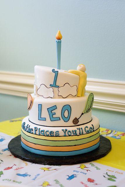 Dr, Seuss Birthday Cake #drseuss #birthdaycake