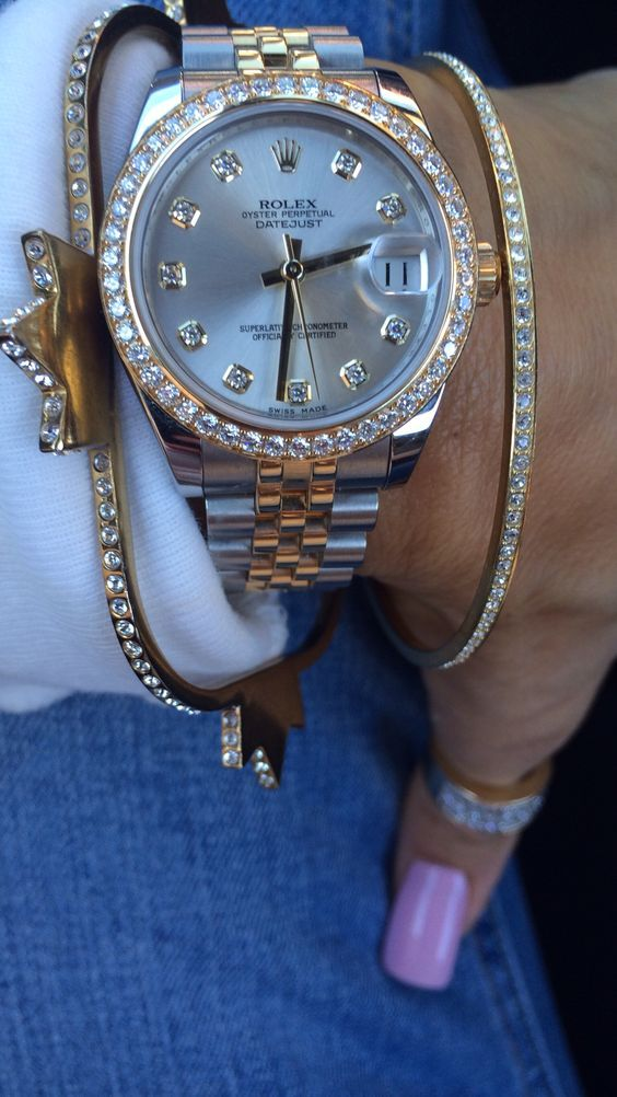 Rolex Lady Datejust | Guaranteed Authentic | #majordor #rolexladieswatches #rolexwatches #womenwatches #luxurywatches www.majordor.com