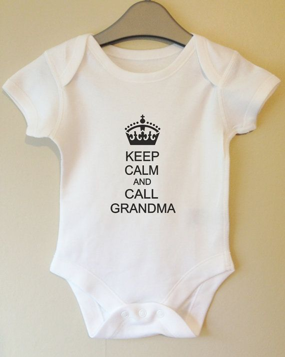 Best 25 cool baby clothes ideas on pinterest cool baby boy keep calm and call nana personalised personalized cool baby body grow suit vest girl boy baby clothes gift idea funny on etsy negle Images
