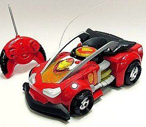 Disney Whip-it Racer Iron Man 2 RC Vehicle by Disney. $69.97. Pulsar light effectReverses directionEasy-grip remote controlRequires one 9V and 6 AA batteries, not includedPlastic/electronicsVehicle 5'' H x 8'' W x 13'' L. Remote control 6'' W x 4 1/2'' L with antenna that extends to 17'' LAges 3+Imported