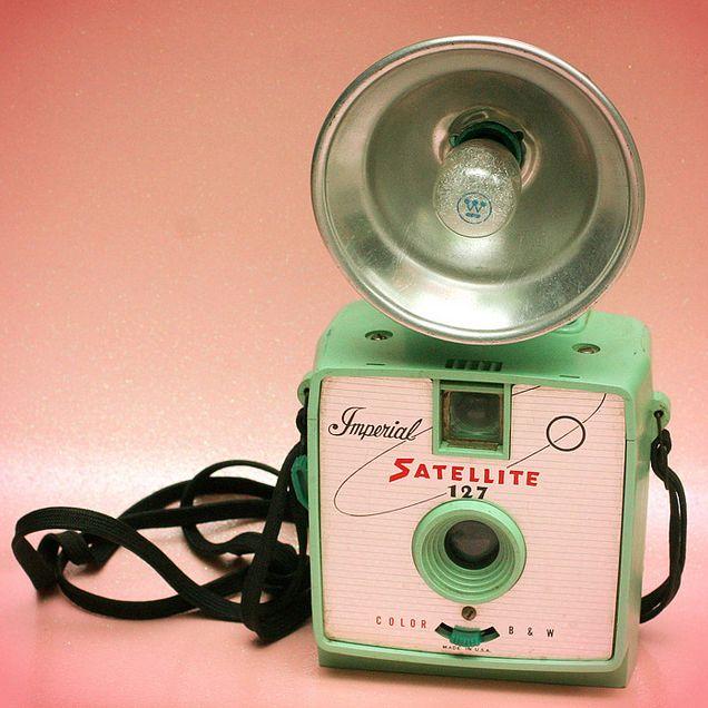 Photos of Beautiful Retro Cameras