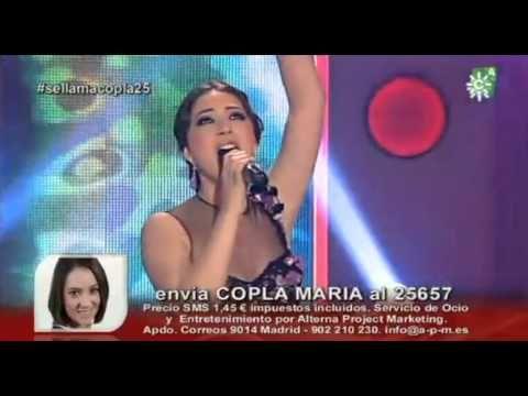 María Espinosa-La virgen de la Macarena-gala 18 copla - YouTube
