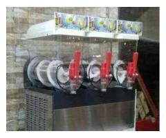 Slush machine fast food machinery for sale in good price