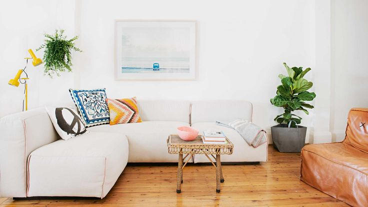 White living rooms - 12 inspiring ideas from insideout.com.au. Photography by Lauren Bamford. Styling by @mrjasongrant1.