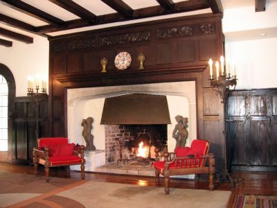 Large tudor fireplace for the home pinterest the o for Tudor style fireplace