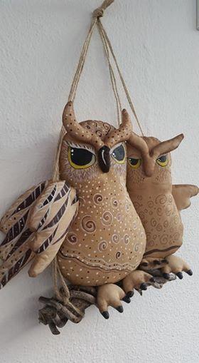 doll, fabric doll, owl, fabric owl, balkon, balcony,