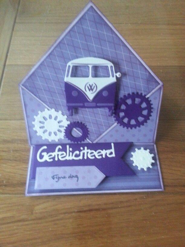 Gemaakt door Hella Coolen : VW bus