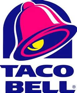 This logo uses retro colors depicting a ringing bell. The bold text and sharp corners of the typeface align with the logo above.