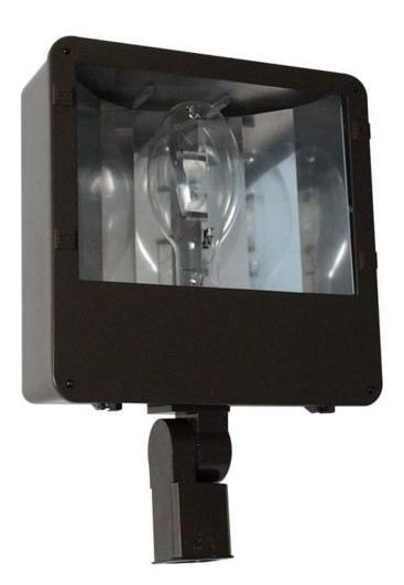 Medium Flood with Knuckle Mount and Vertical Lamp FLOODLIGHTING | HID / CFL FLOODS