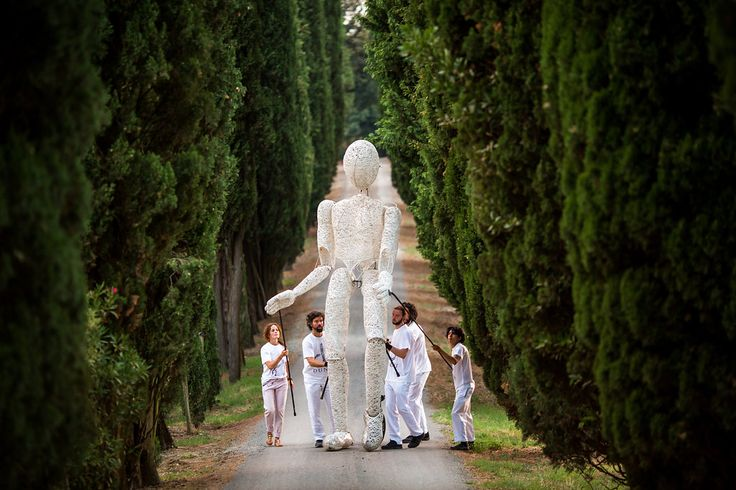Kreativ und ausgefallen: Performance-Künstler für die Hochzeit in Italien