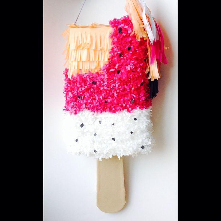 Piñata Helado - Icecream Piñata ¡Verano!