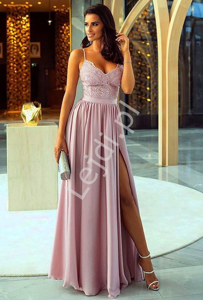 Suknia Wieczorowa Na Wesele Studniowke Lub Dla Druhen Bella W Kolorze Lila Dresses Prom Dresses Formal Dresses Long