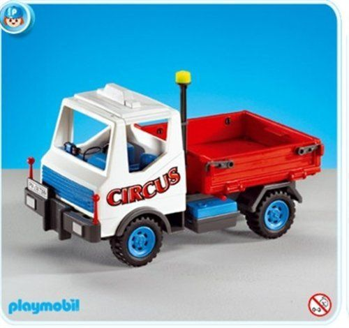"Playmobil Circus Vehicle by Playmobil. $25.99. This item is part of the Direct Service range. This range of products are intended as accessories for or additions to existing Playmobil sets. For this reason these items come in clear plastic bags or brown cardboard boxes instead of a colorful retail box.. Playmobil's AddOns add lots of fun to Playmobil's regular product line. Addons are usually ""leftover"" styles that were part of larger Playmobil sets."
