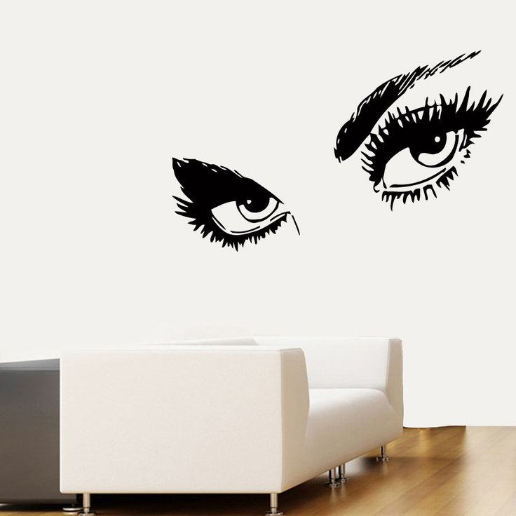 wall decals vinyl sticker decal make up girl eyes model audrey hepburn sexy eyes wall decal world of decals