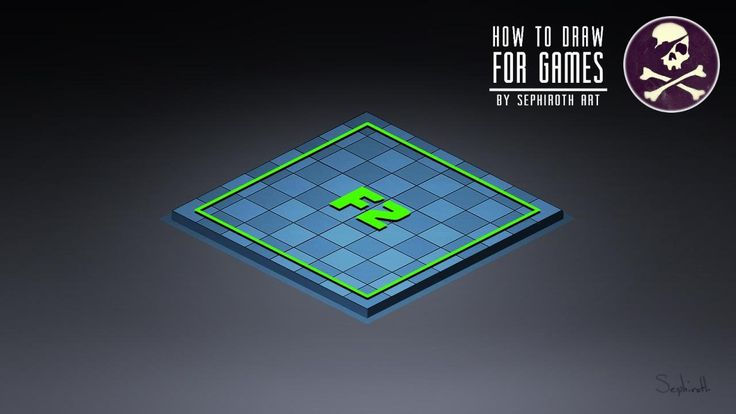 How to Draw For Games #5 | Isometric in One Click!!!