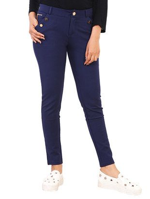 Check out what I found on the LimeRoad Shopping App! You'll love the Blue Acrylic Chinos Trousers. See it here http://www.limeroad.com/products/13090457?utm_source=10570b8bd1&utm_medium=android