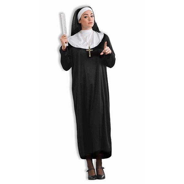 Nun Womens Plus Costume