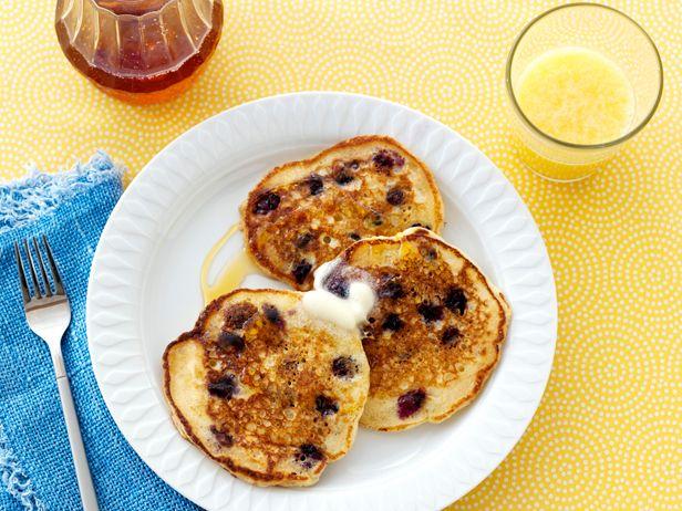 Lemon Blueberry Pancakes #RecipeOfTheDay