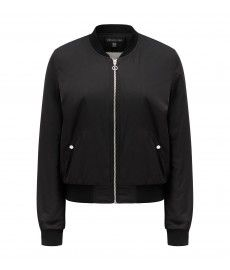 Camille faux fur lined bomber jacket