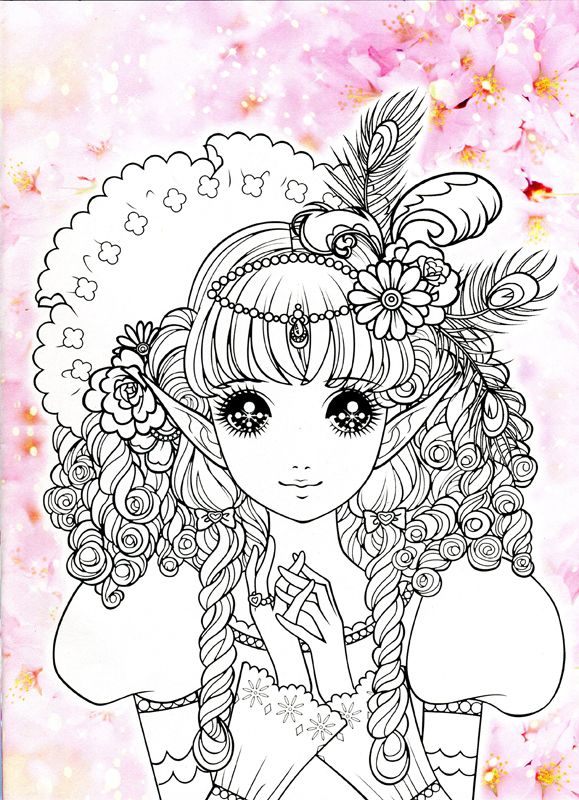 manga coloring book 713 best coloring books images on pinterest - Manga Coloring Book