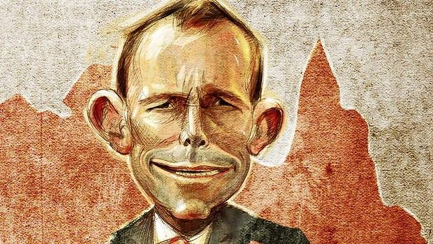 A goat in sheeps clothing?  Labor's attack on Abbott might be better focused on showing him as weak and irresolute, not a wolf.