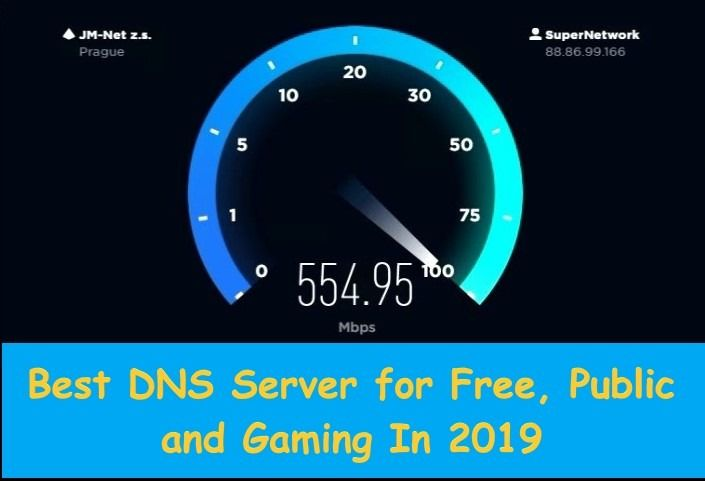 10 Best Dns Servers For Free Public And Gaming In 2020 Dns Public Server