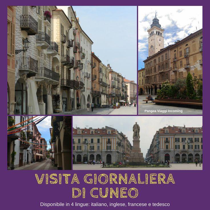 visita giornaliera di Cuneo (Italiano, Inglese, Francese e Tedesco)