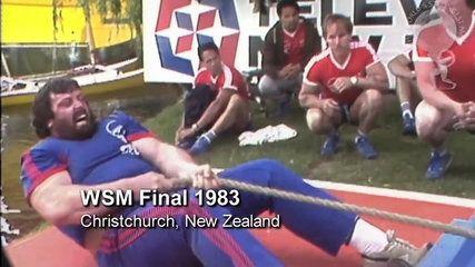 https://www.youtube.com/watch?v=u8DECs72W4E  1983 World's Strongest Man Competition, Christchurch, NZ