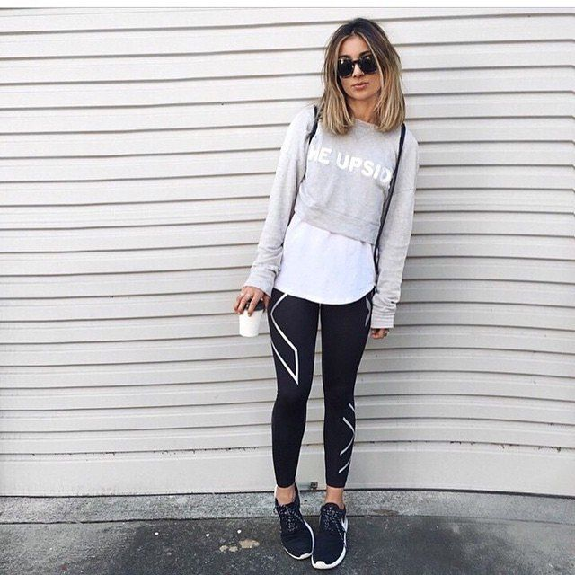 F I T N E S S F A S H I O N Ellesechloe Perfecting The 39 From The Gym To The Street Look 39 In
