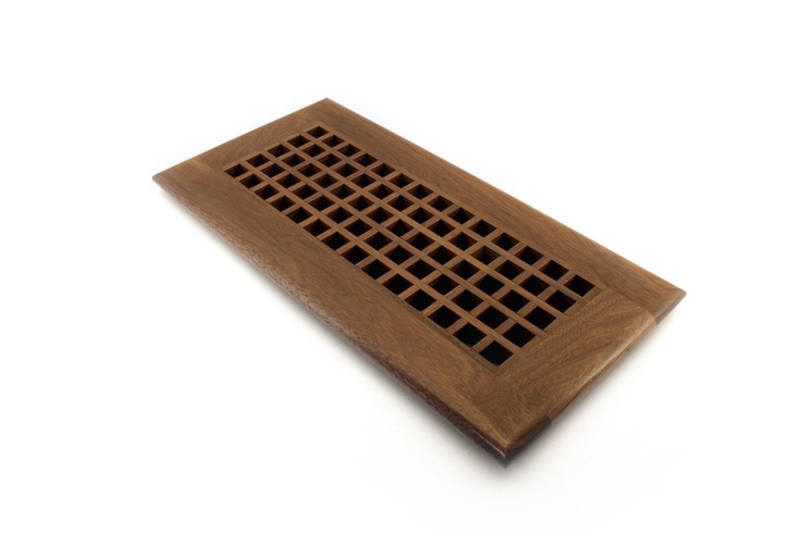 Self Rimming Egg Crates are available in standard and custom sizes.  These vents are designed for larger floor air returns and duct openings.