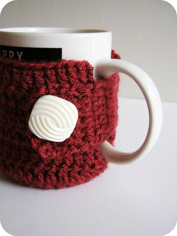 99 Best Crochet Cupmug Cozy Images On Pinterest Mug Crochet Mug