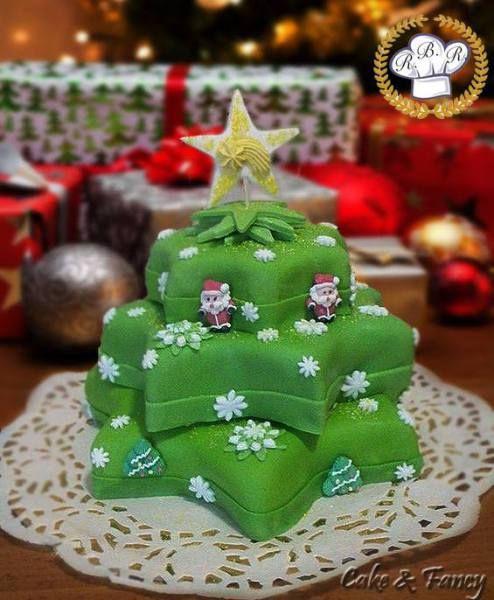 Torta natalizia - Ricette Blogger Riunite