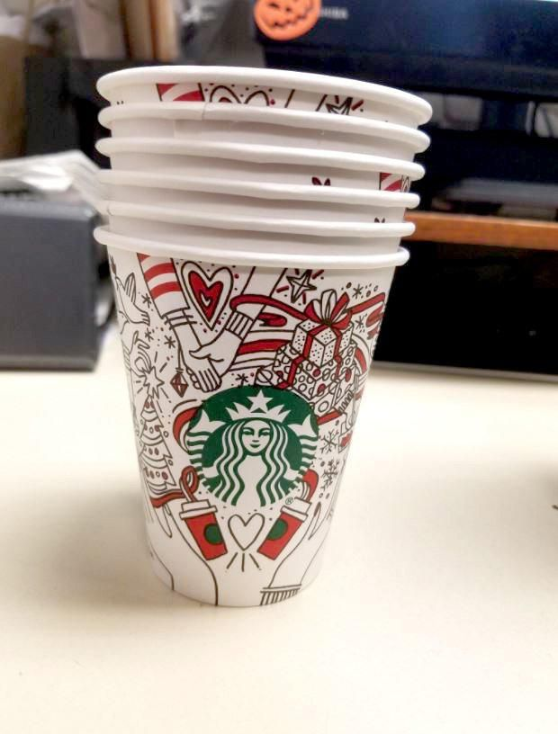 GROUNDS FOR CELEBRATION! What's on the Starbucks Christmas 2017 holiday drinks menu? Prices, calories and pictures of the new cup
