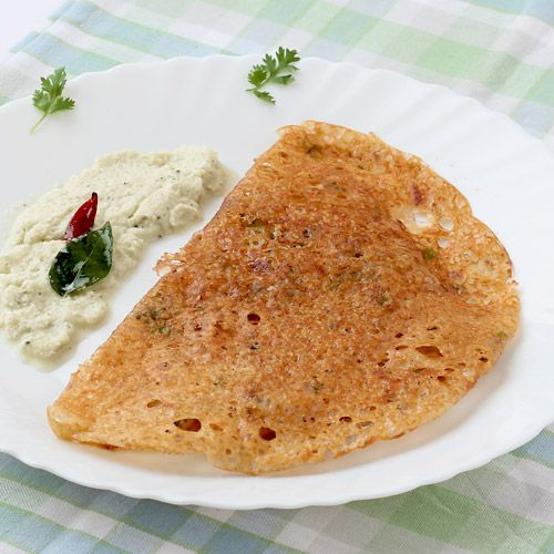 Compared with traditional rice dosa, preparing oats dosa is quick and does not require any advance preparation - dry-roast oats, crush them into powder, mix curd, rava, spices, greens and water to prepare batter, spread it over hot tawa, cook for few minutes and voila! oats dosa is ready! its that simple!