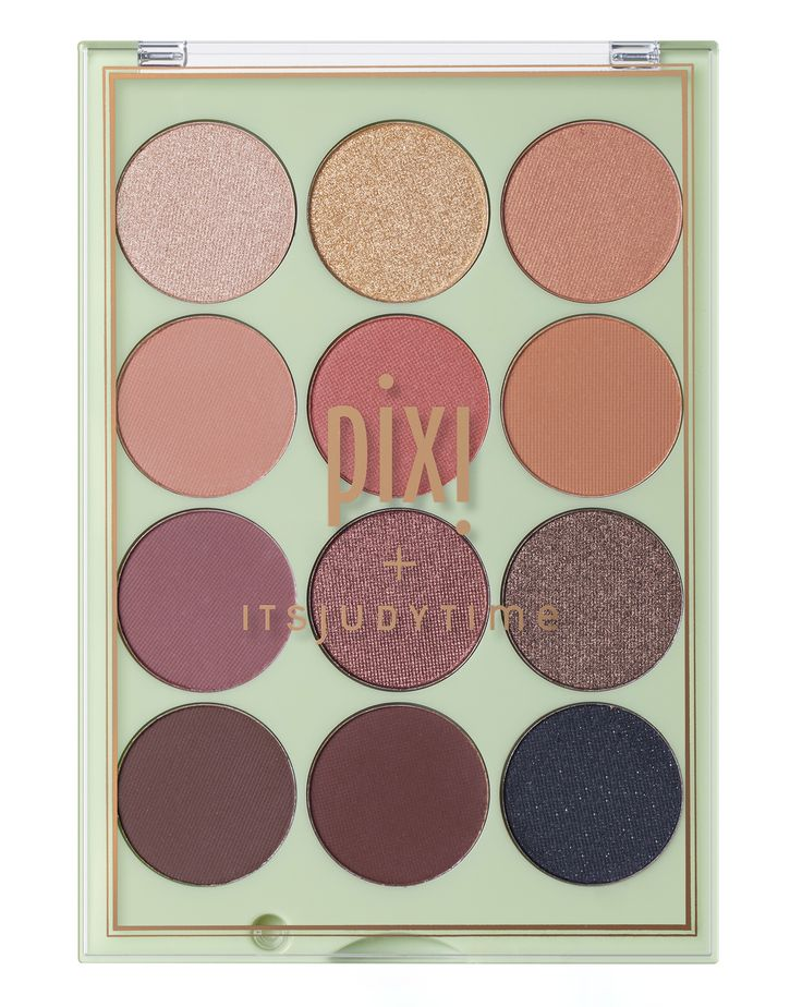 Pixi   Pixi + ITSJUDYTIME Get the Look ItsEyeTime Eyeshadow Palette   Cult Beauty £28.00