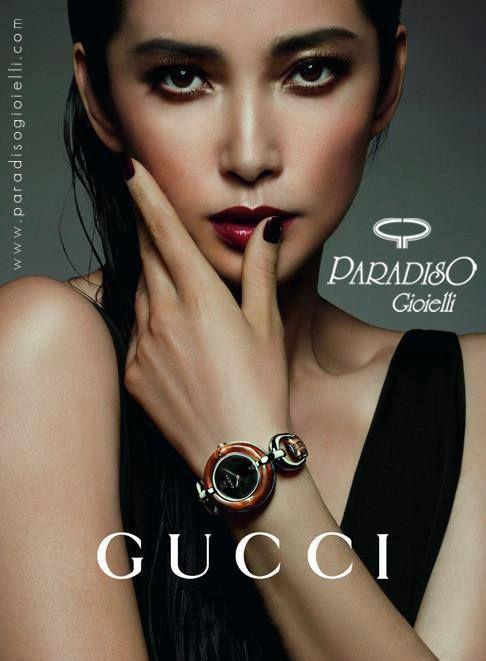 #Gucci #Orologio #Bamboo, disegnato dal Direttore Creativo Frida Giannini e realizzato da esperti #artigiani con #bambù naturale e #acciaio. Un #orologio di grande #femminilità!!! #Gioielli #Watchs #Donna #Woman #Eleganza #Creatività #Lusso