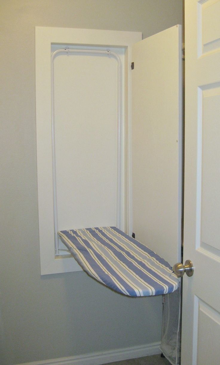 TDA decorating and design: Building An In The Wall Ironing Board - Part 3: Finish Work & Installing the Ironing Board