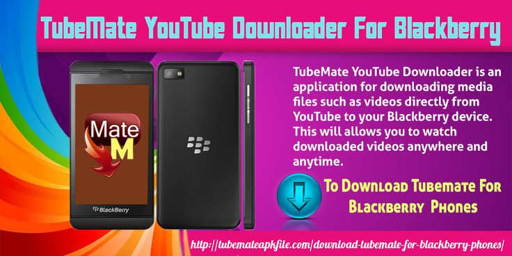 TubeMate YouTube Downloader is an application for downloading media files such as videos directly from YouTube to your Blackberry device. This will allows you to watch downloaded videos anywhere and anytime. The application is really easy to use and has an interface which is user-friendly.