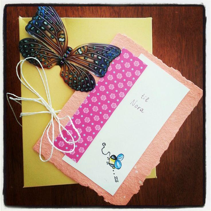 Birthday card with box