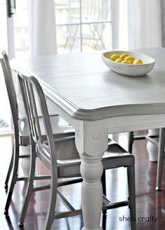 20 diy home decor ideas painted kitchen tableskitchen - Kitchen Table Centerpiece Ideas