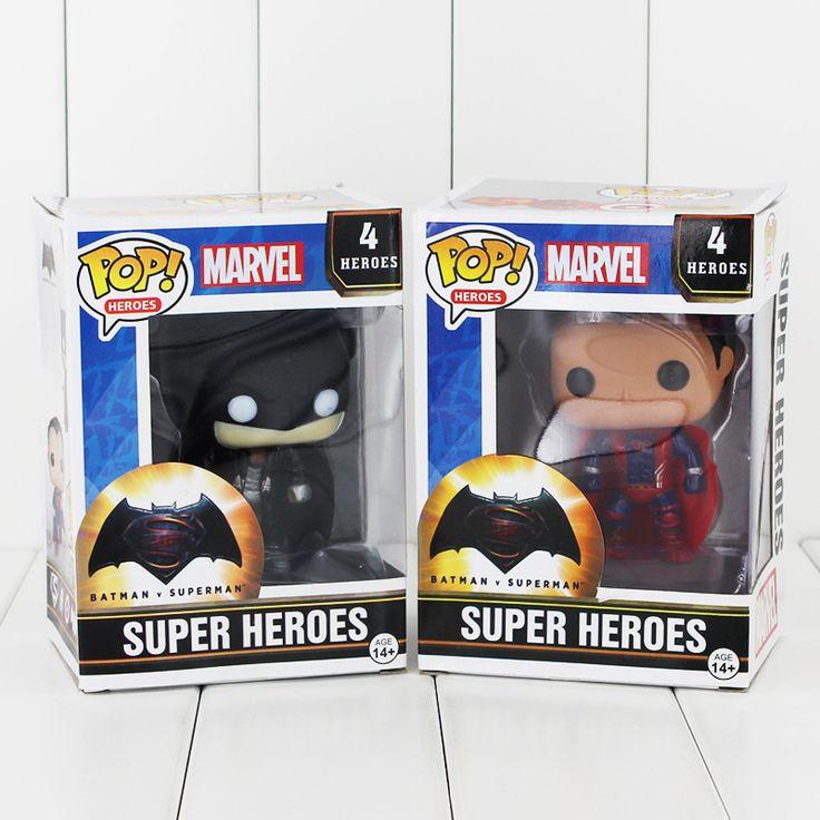 POP Heroes - Batman vs Superman //Price: $15.99 & FREE Shipping //     #BatmanFanShop