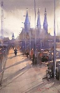 Ride home to Zandhoek by Hans Groeneveld