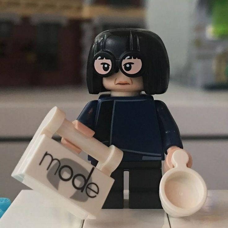 LEGO Disney Series 2 Edna Mode Minifigur   – LEGO Disney Series 2 Minifigures