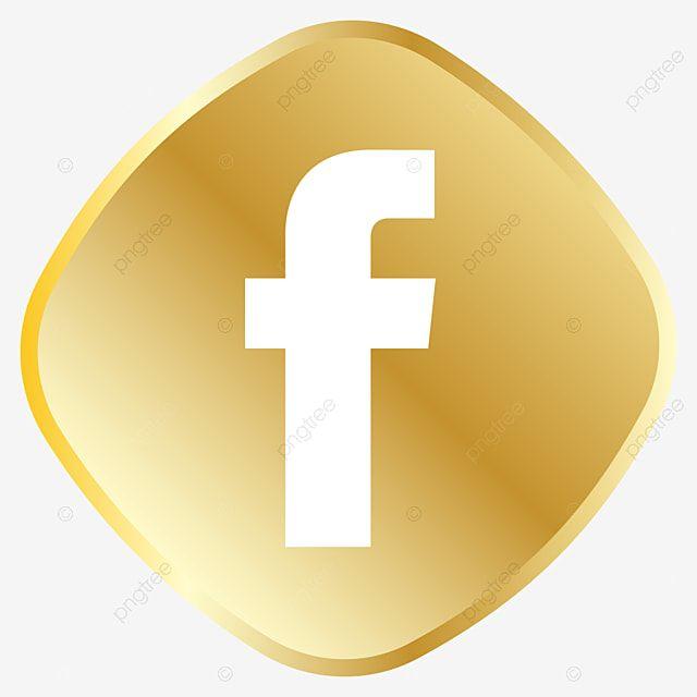 Icone Dourado Do Facebook Real Dourado Conjunto De Icones Imagem Png E Vetor Para Download Gratuito In 2021 Facebook Icon Vector Facebook Icons Graphic Design Background Templates