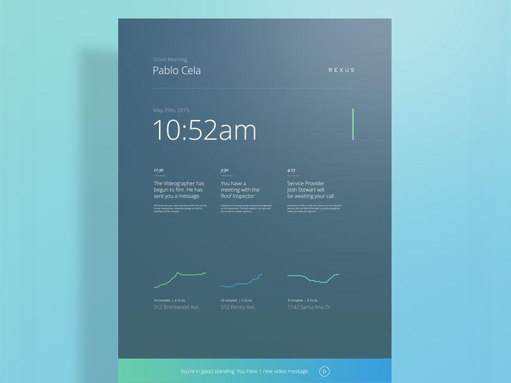 Rexus 2.0 iPad wake screen