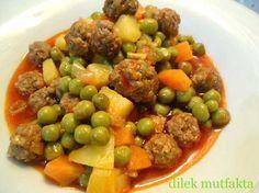Köfteli Bezelye Yemeği Tarifi   Yemek Tarifleri Sitesi   Oktay Usta, Pratik Yemekler