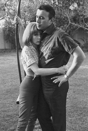 Barbara Eden and Michael Ansara (dated 1957-58, m. 17-Jan-1958, div. 1972)  Son: Matthew Ansara (actor, b. 29-Aug-1965, d. 25-Jun-2001 heroin overdose)