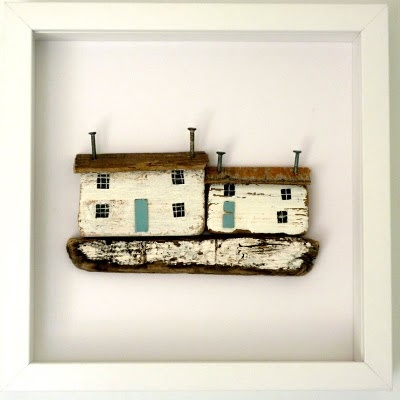 Driftwood Houses by Kirsty Elson